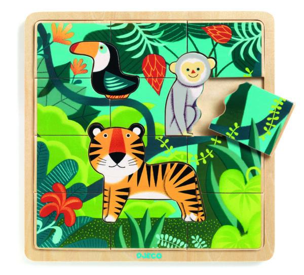 puzzle dżungla