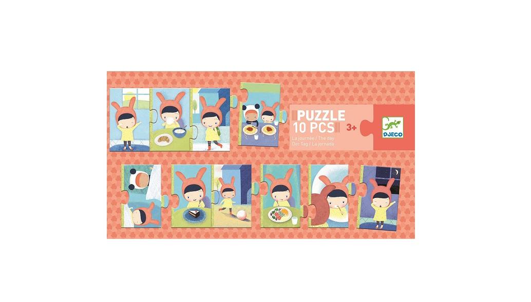 Puzzle 10el Dzień | Djeco
