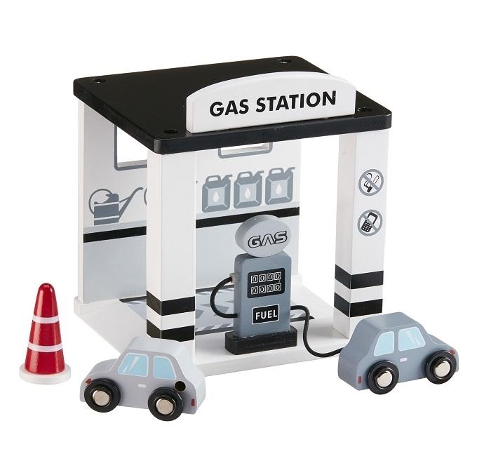 Drewniana stacja benzynowa | Kids Concept