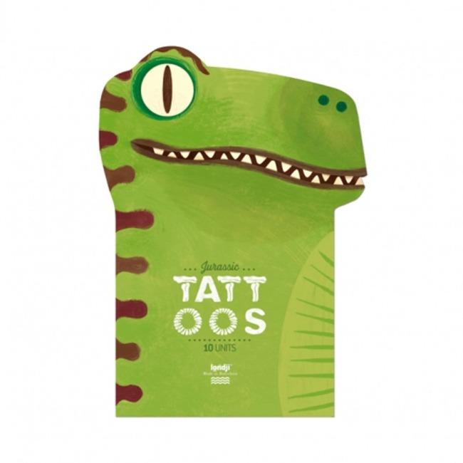 Zmywalne tatuaże Dino Londji