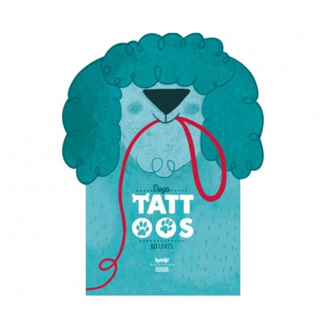 Zmywalne tatuaże Psy Londji