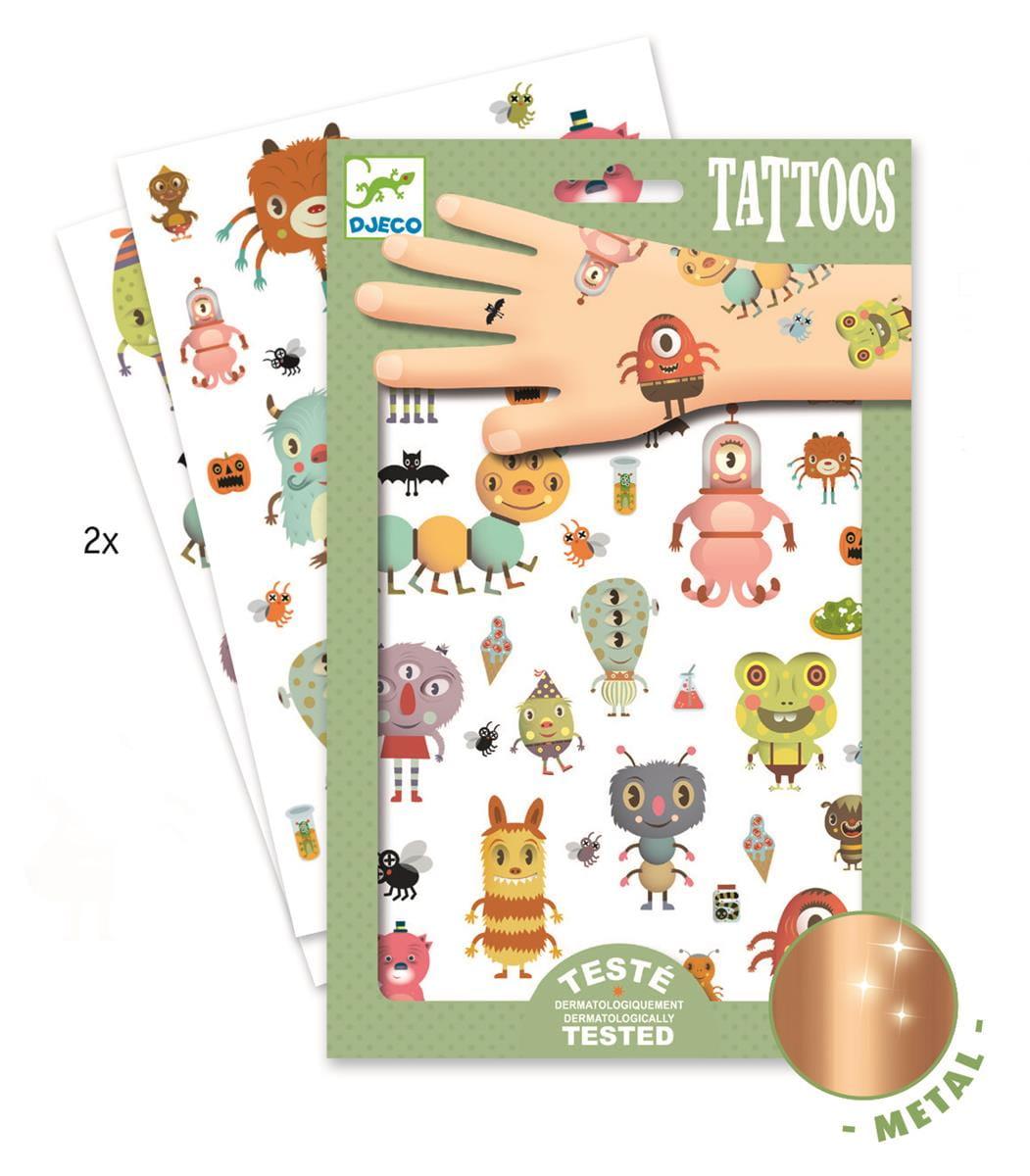 Tatuaże Potworki | Djeco