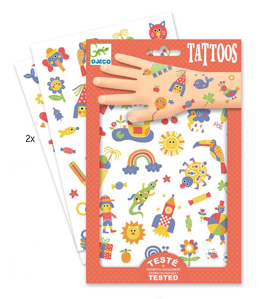 Tatuaże Słodziaki | Djeco