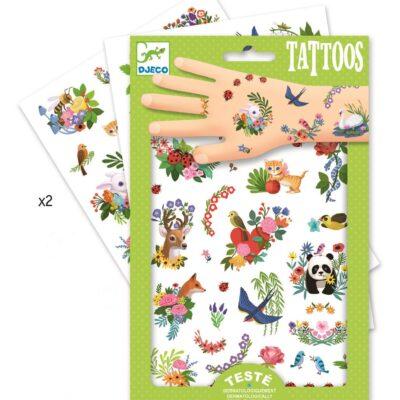 Tatuaże Wesoła wiosna | Djeco