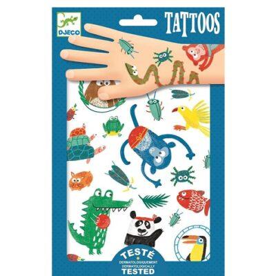 Tatuaże Zwierzaczki | Djeco