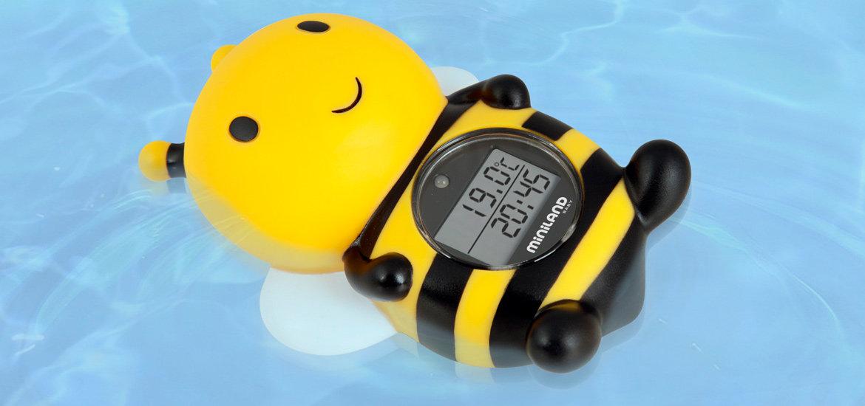Termometr Pszczółka do pomiaru wody i otoczenia