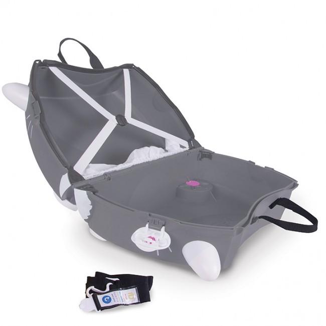 Jeżdżąca walizeczka Kotek Benny   Trunki