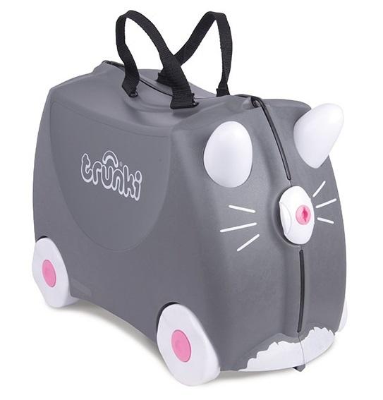 Jeżdżąca walizeczka Kotek Benny | Trunki