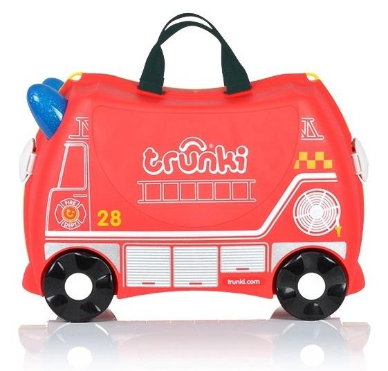 Jeżdżąca walizeczka - Wóz strażacki Frank