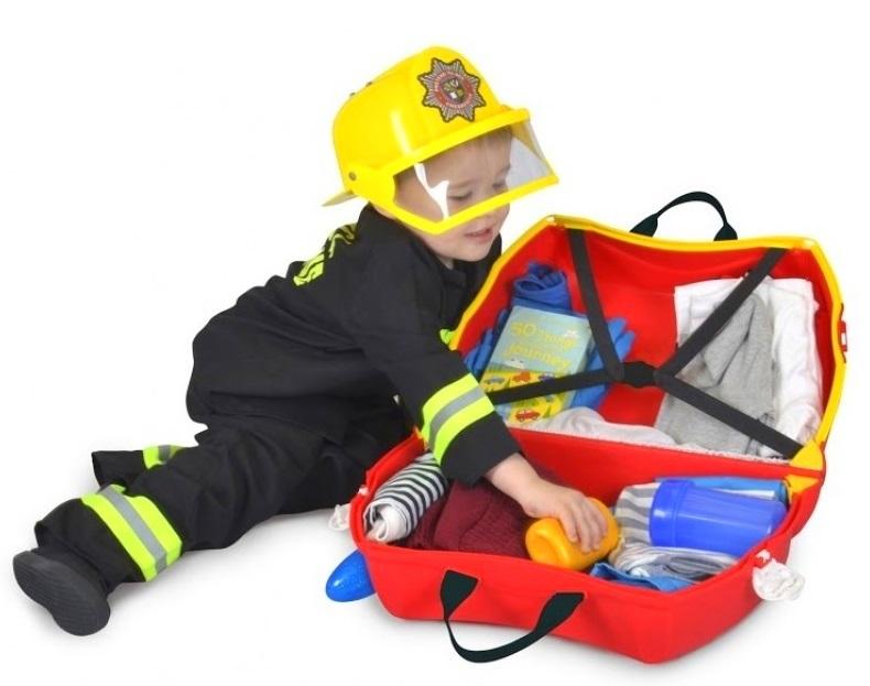 Jeżdżąca walizeczka – Wóz strażacki Frank