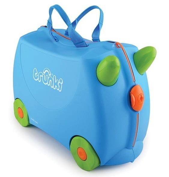 Jeżdżąca walizeczka Terrance | Trunki