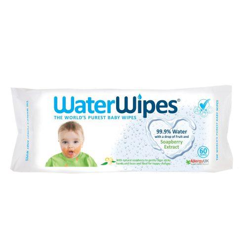 WaterWipes chusteczki nasączane wodą z wyciągiem z orzechów mydlanych