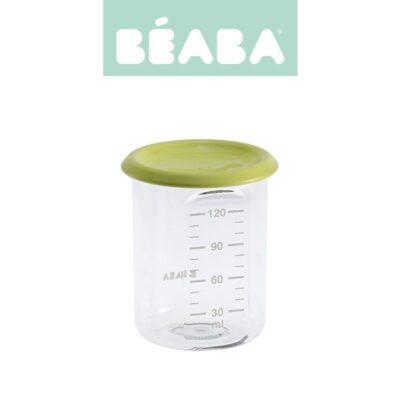 Słoiczek z hermetycznym zamknięciem 120 ml neon |Beaba