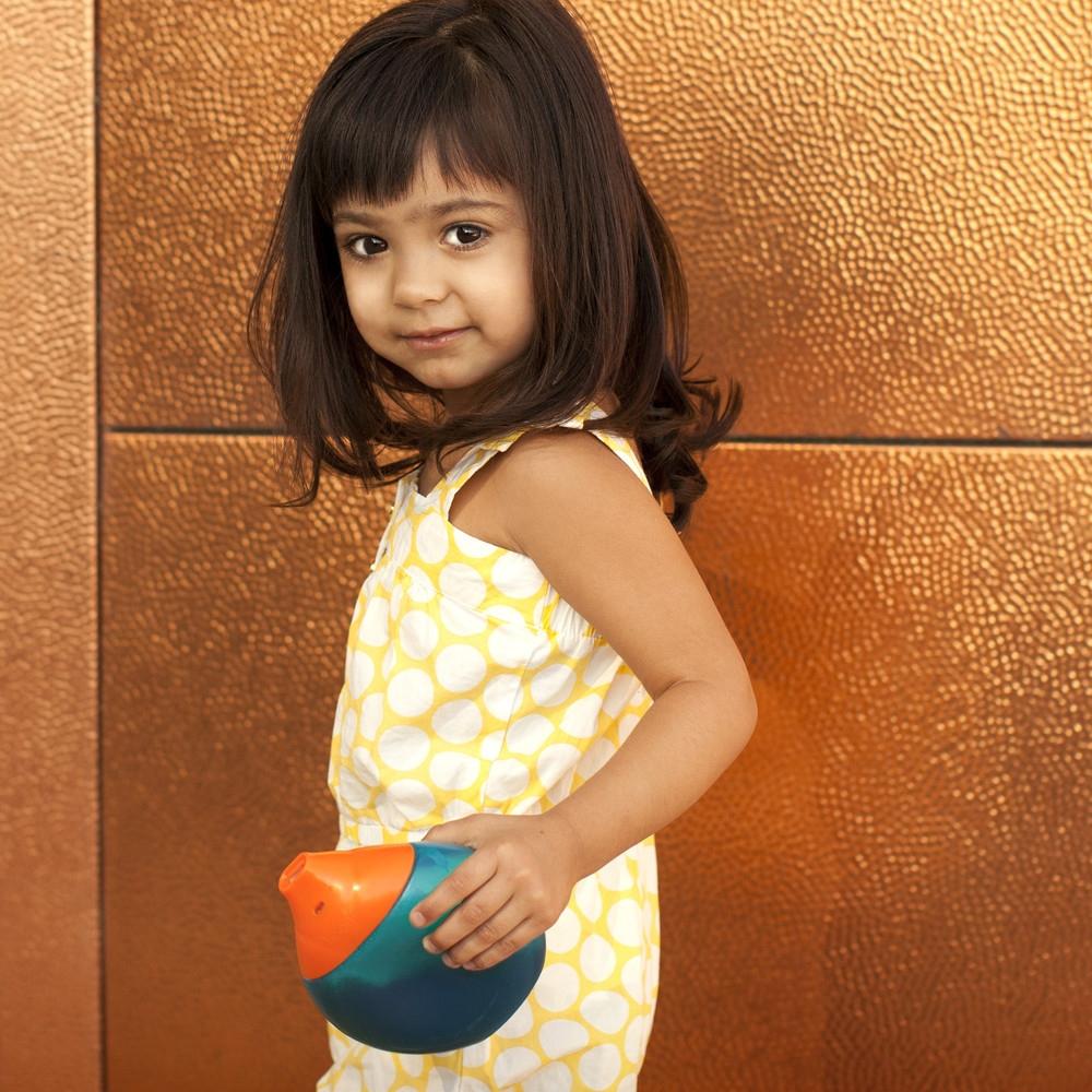 Kubek niekapek Blue/Orange Boon
