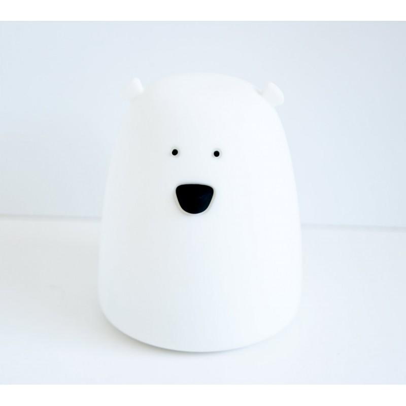 Lampka Miś biały mały | Rabbit&Friends