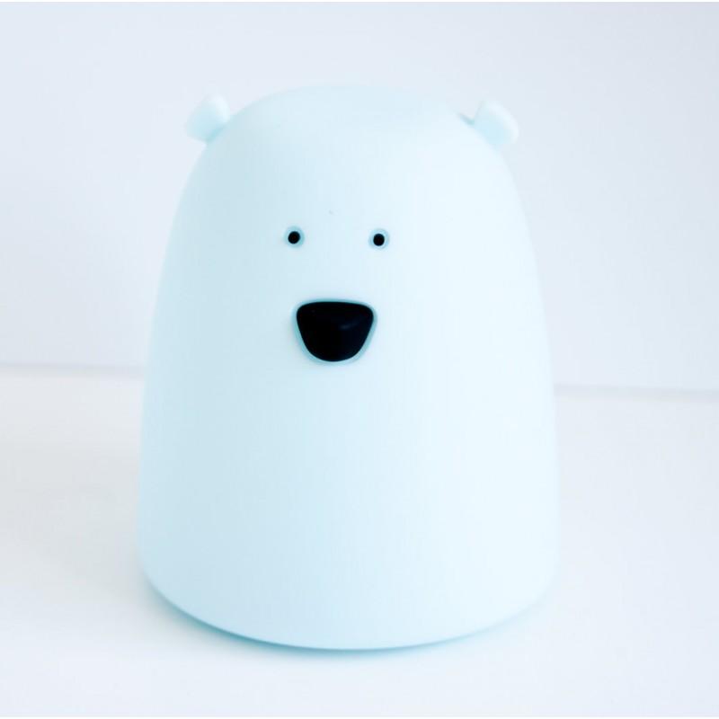 Lampka Miś mały niebieski | Rabbit&Friends