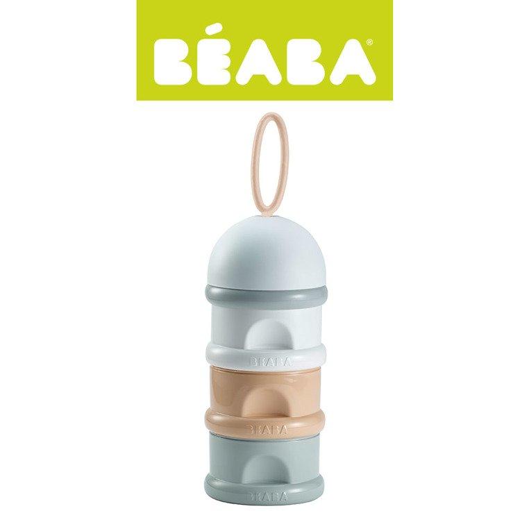 Pojemniki na mleko w proszku nude | Beaba