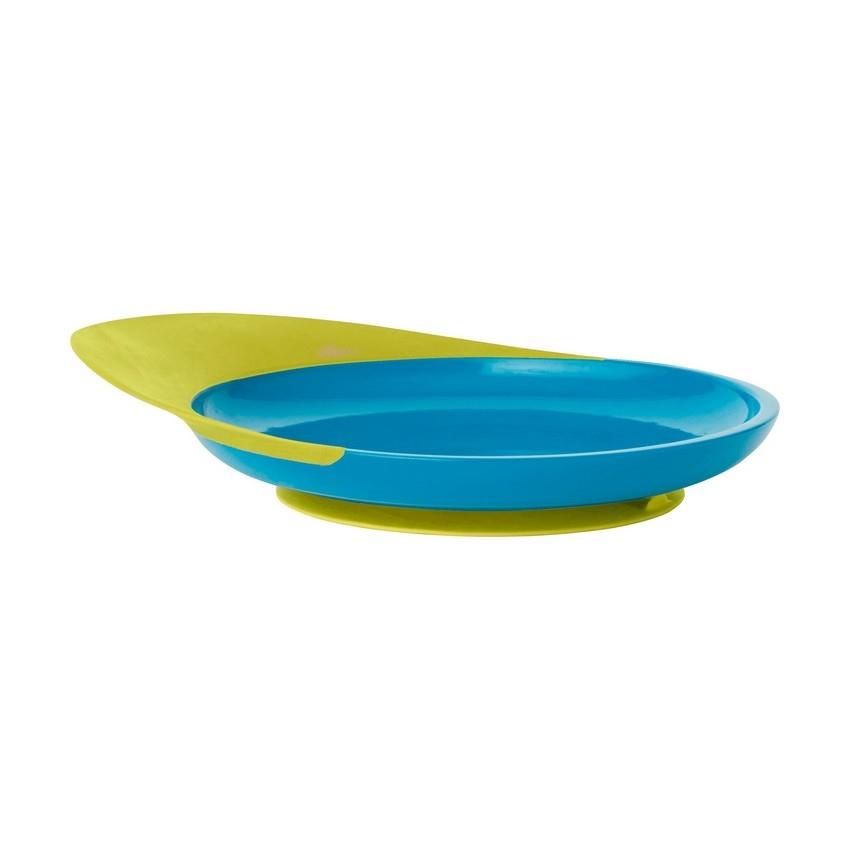 Antypoślizgowy talerz Blue/Green | Boon
