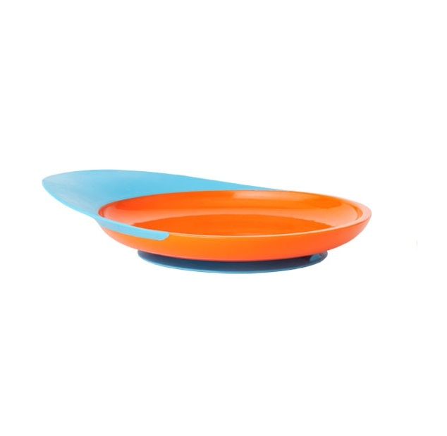 Talerz orange/blue Boon