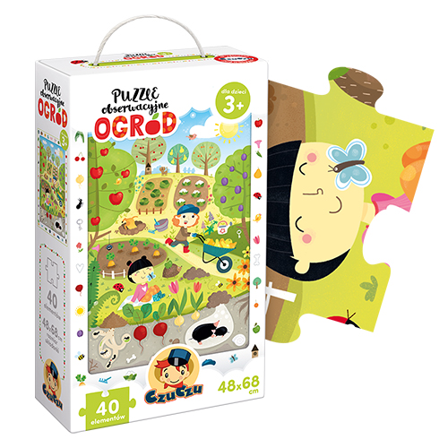 Puzzle obserwacyjne Ogród | CzuCzu