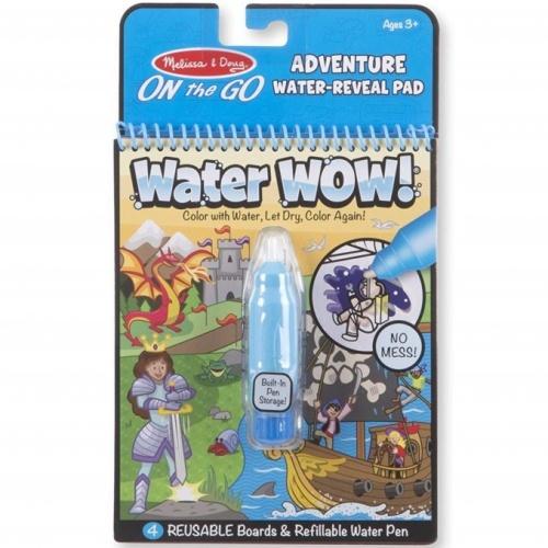 Kolorowanka wodna wielokrotnego użytku Przygody Melissa&Doug