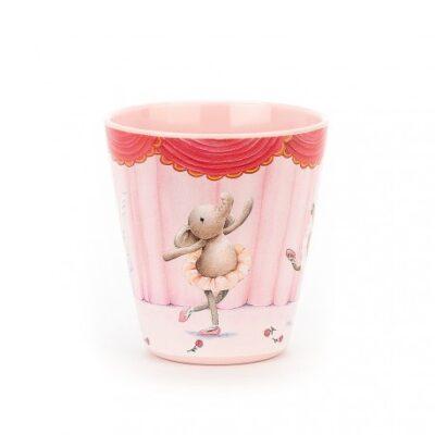 Kubeczek balerina słonik Elly   JellyCat