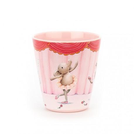 Kubeczek balerina słonik Elly | JellyCat
