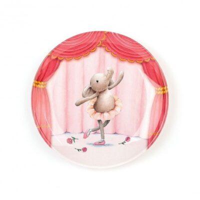 Talerzyk balerina słonik Elly   JellyCat
