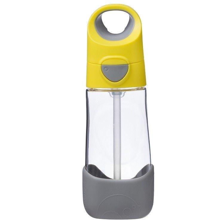 Tritanowa butelka ze słomką 450 ml, lemon sherbet | b.box