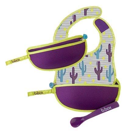Śliniak podróżny w saszetce Cactus | B.Box
