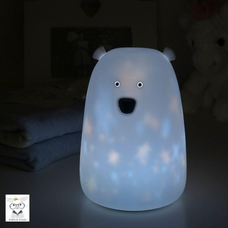 Lampka Miś w gwiazdki   Rabbit&Friends