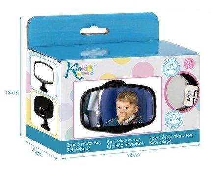 Prostokątne lusterko wsteczne do obserwacji dziecka | KioKids