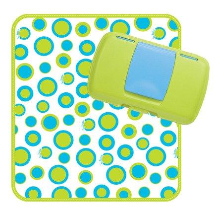 Przewijak w etui z miejscem na pieluchy i chusteczki Retro Circles | B.Box