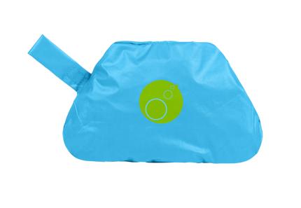 Wodoodporny fartuszek-śliniaczek z rękawami passion splash | B.Box