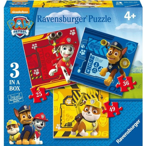 Puzzle 3w1 Psi Patrol