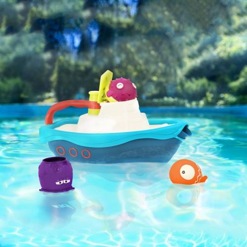 Zestaw do kąpieli - Łódka z akcesoriami | B.Toys