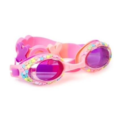 Okulary do pływania Pastelowe Serduszka | Bling2o