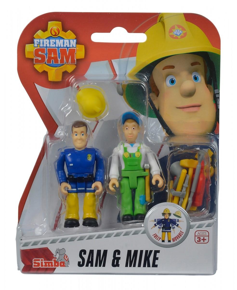 Figurki Strażak Sam 2-pak, 4 rodzaje | Simba