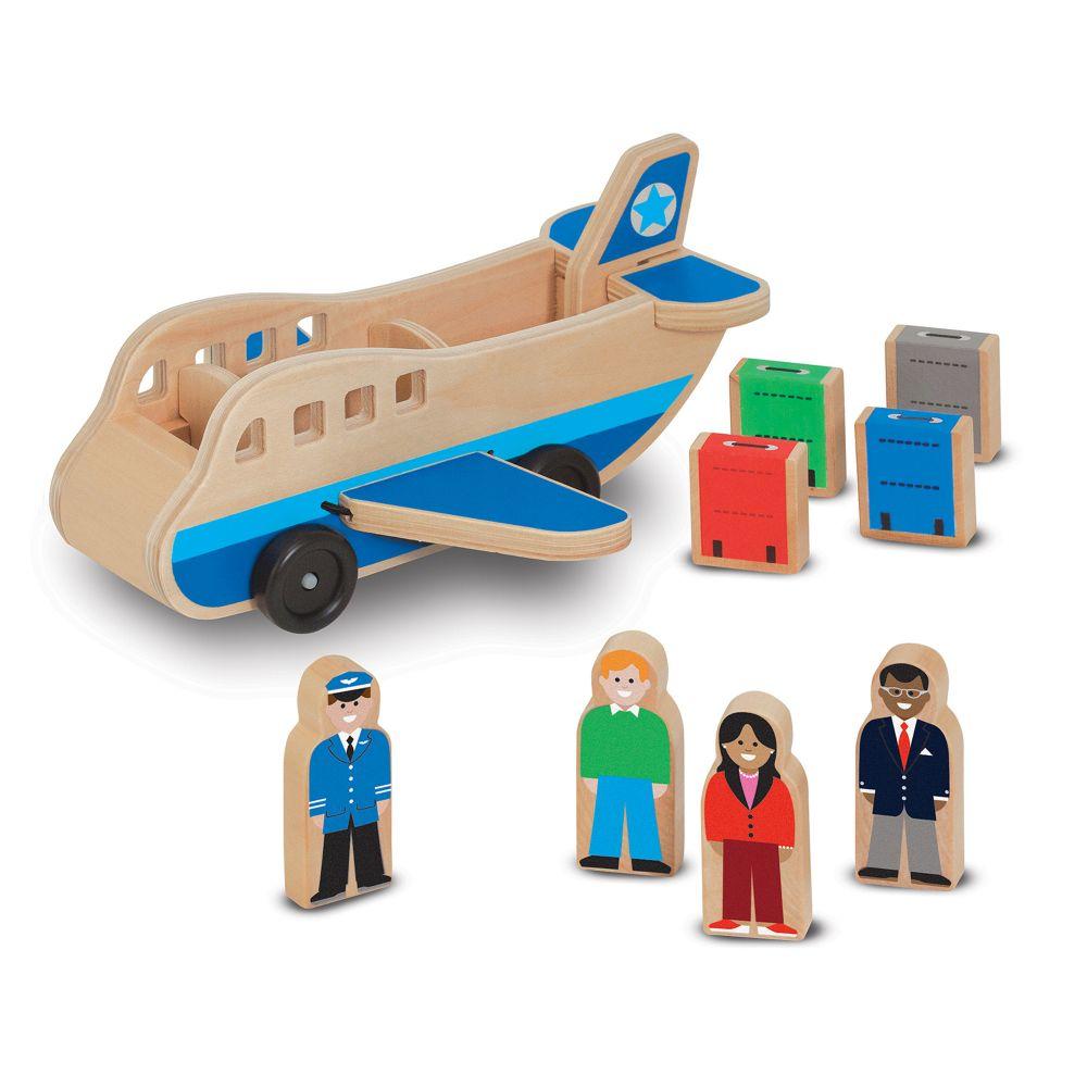 Drewniany samolot z pasażerami | Melissa&Doug
