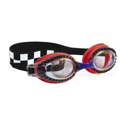 Okulary do pływania Wyścigi czerwone   Bling2o