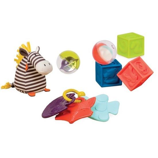 Zestaw prezentowy dla niemowląt Czerwony | B.Toys
