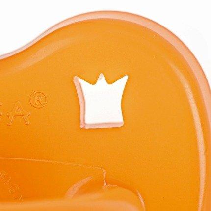 Smoczek kauczukowy uspokajający, klasyczny, Korony, 3-36 msc | Hevea