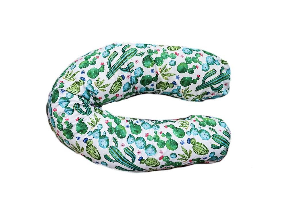 Poduszka do spania Kaktusy