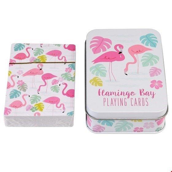 karty flamingi