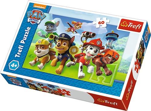 Puzzle Psi Patrol gotowi do akcji 60el