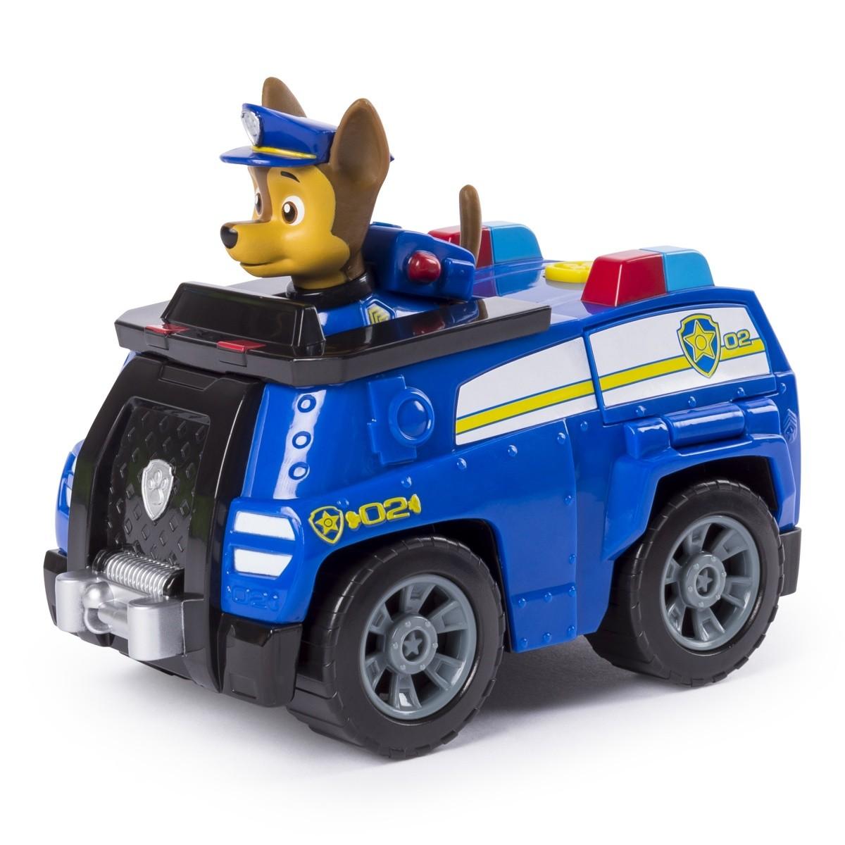 Psi Patrol Pojazd z figurką Chase