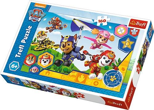 Puzzle Psi Patrol gotowi do pomocy 160el