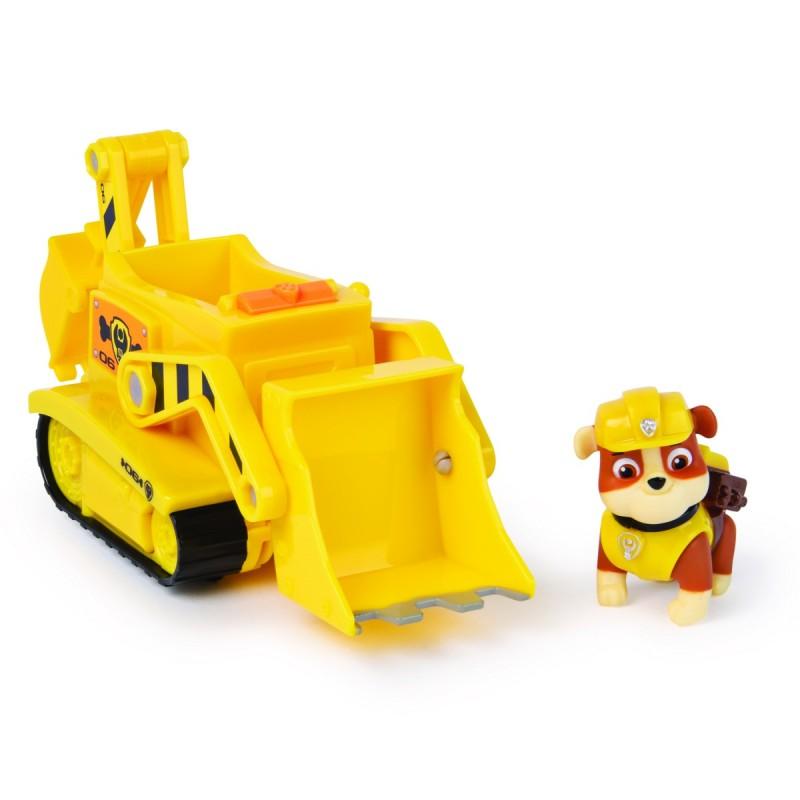 Psi Patrol Pojazd z figurką Rubble