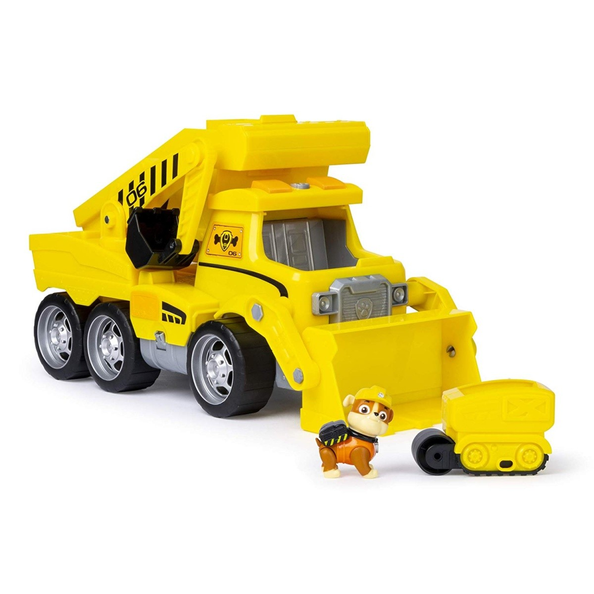 Psi Patrol pojazd z figurką Rubble XXL
