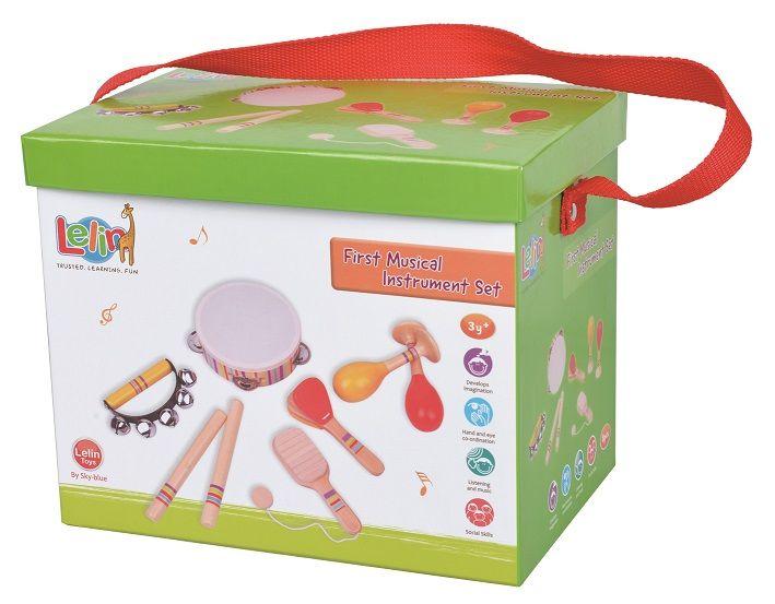 Zestaw instrumentów w pudełku | Lelin